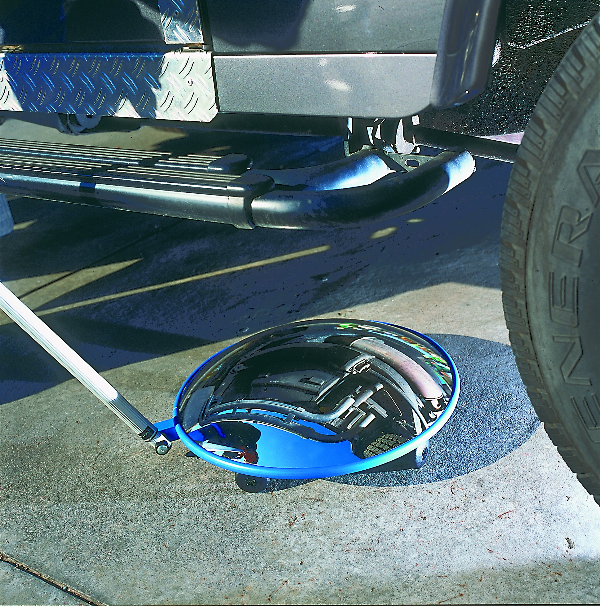 Inspection Mirror with Castors
