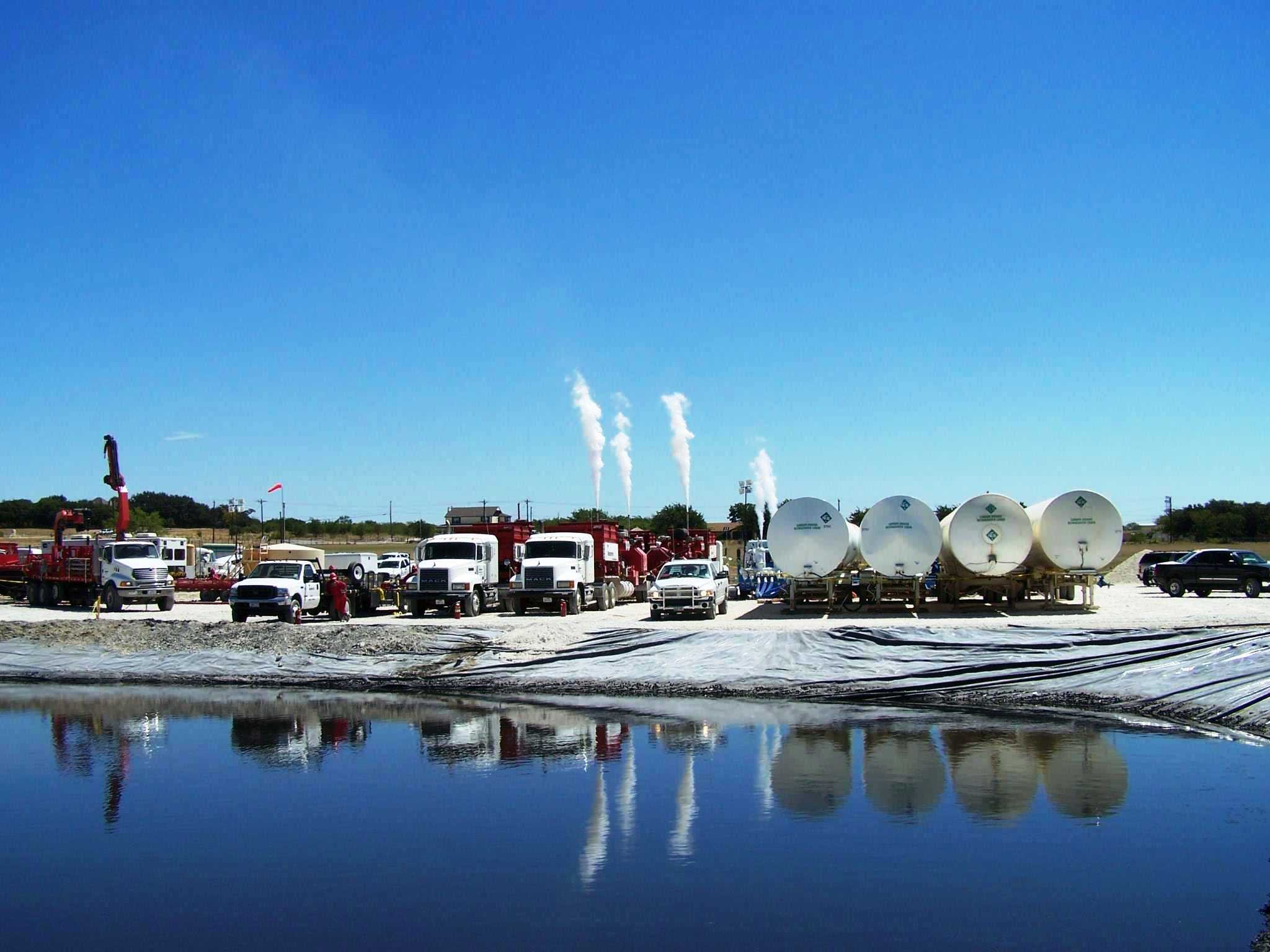 Reliant Holdings, FloCo2 fracking setup