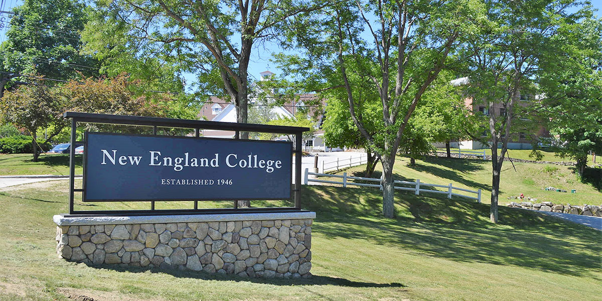 Town Hall at New England College, Henniker - Cancelled