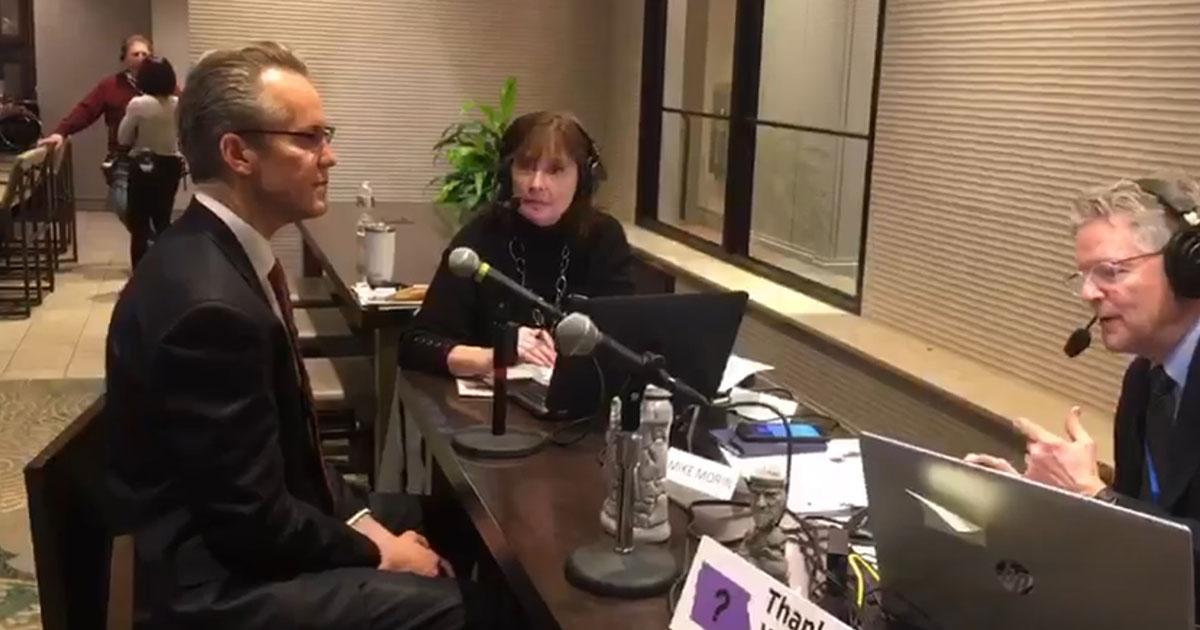 Matt Matern Interviewd by Mike Morin 106.3 Frank FM