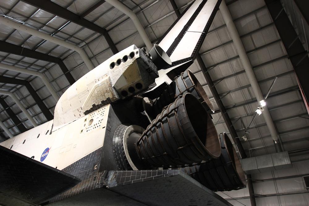 NASA Space ship rocket boosters