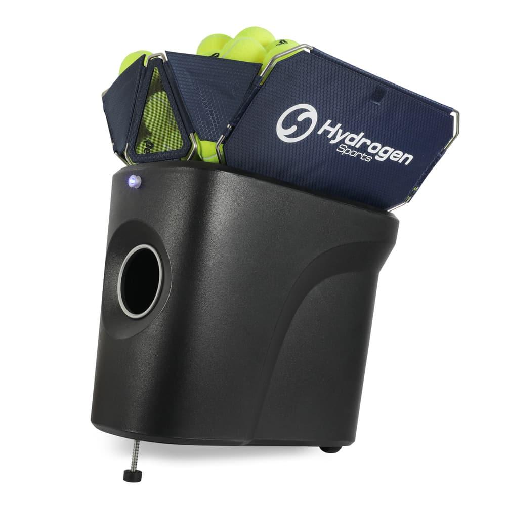 Smartphone controlled portable tennis ball machine