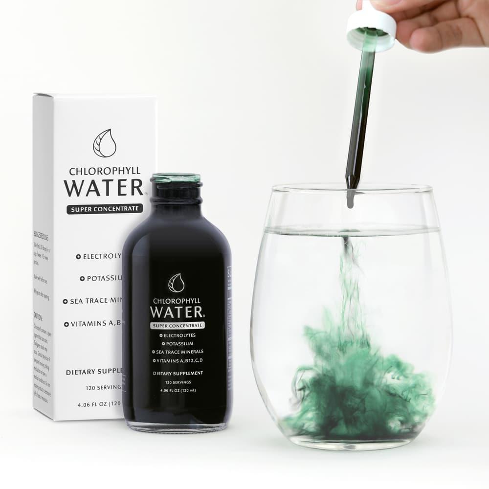 Chlorophyl brand water supplement