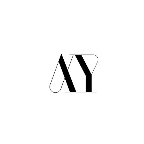 Custom Font Typeface Logo