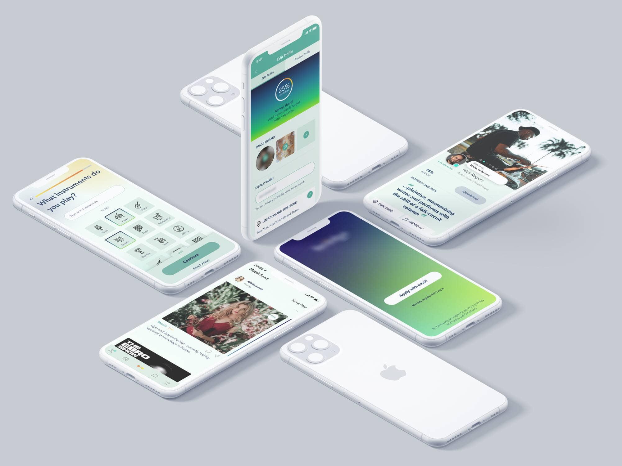 native mobile app designs