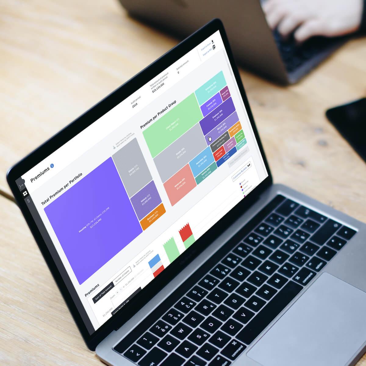 enterprise data visualisation software, web app