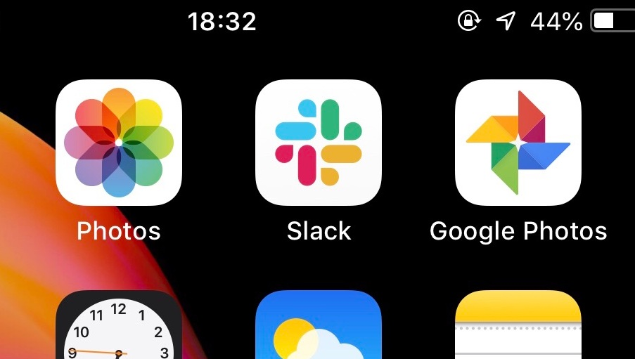 All apps look the same?