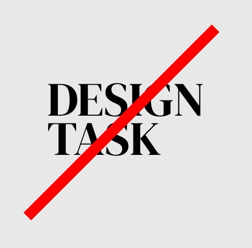 Why design tasks based hiring is wrong.