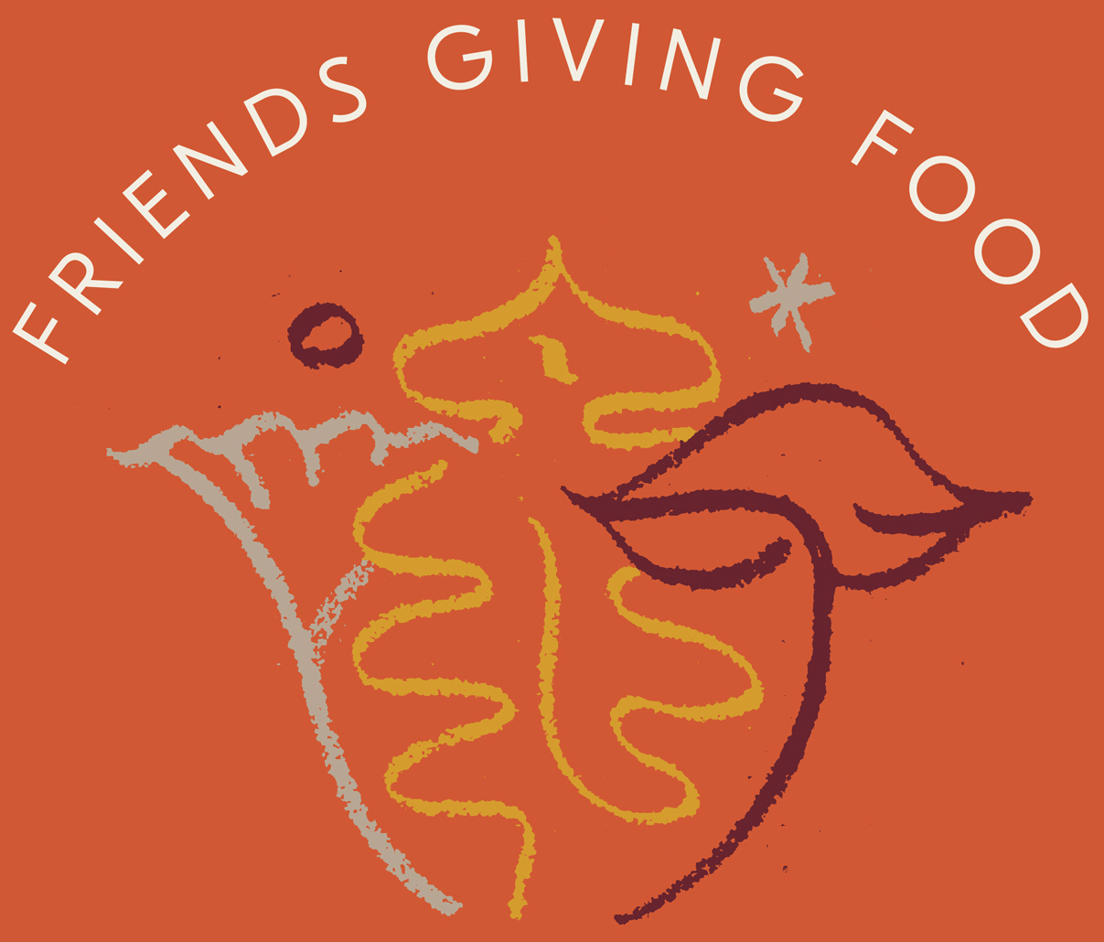 Friends Giving Food Flyer