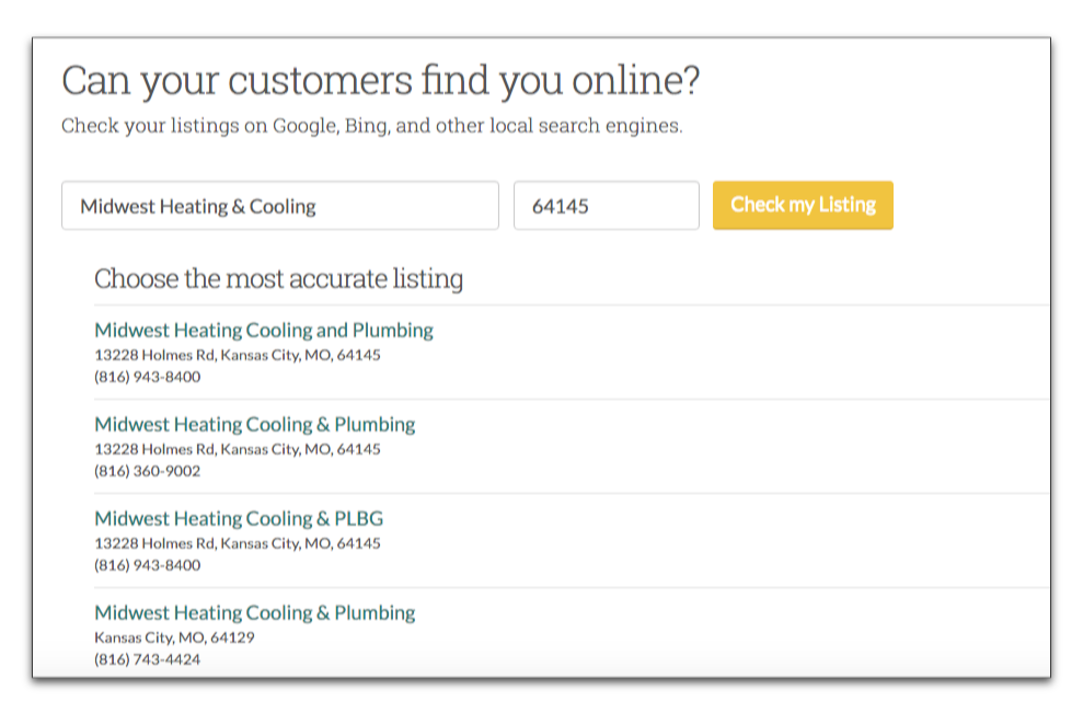 how directory listing relate to local seo