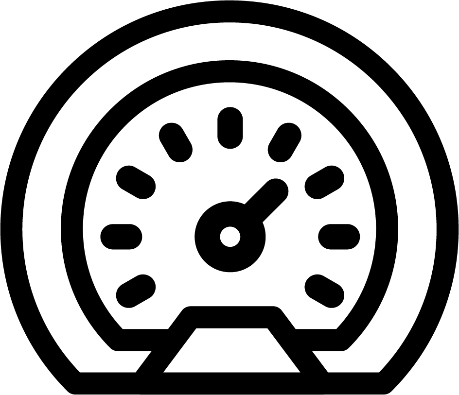 Motorcycle spedometer icon