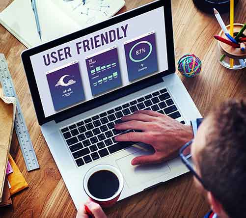 Make your site user friendly