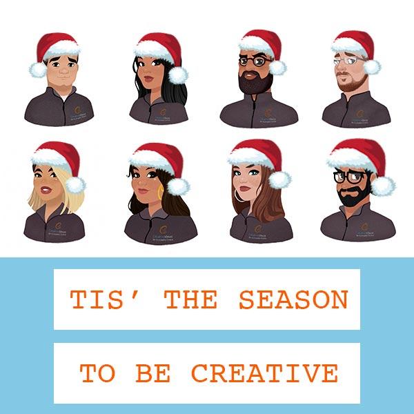 Creative Ideaz Christmas Card