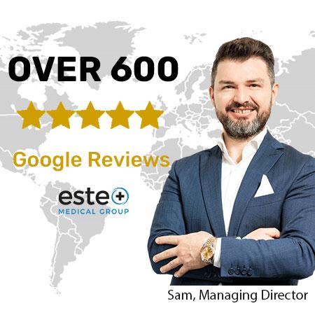 Este Medical Group 5 star google reviews