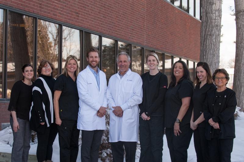 the Carlson family dentistry team