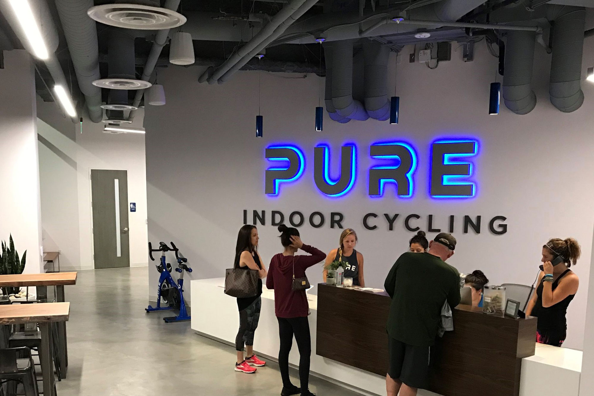 Pure Indoor Cycling in San Diego