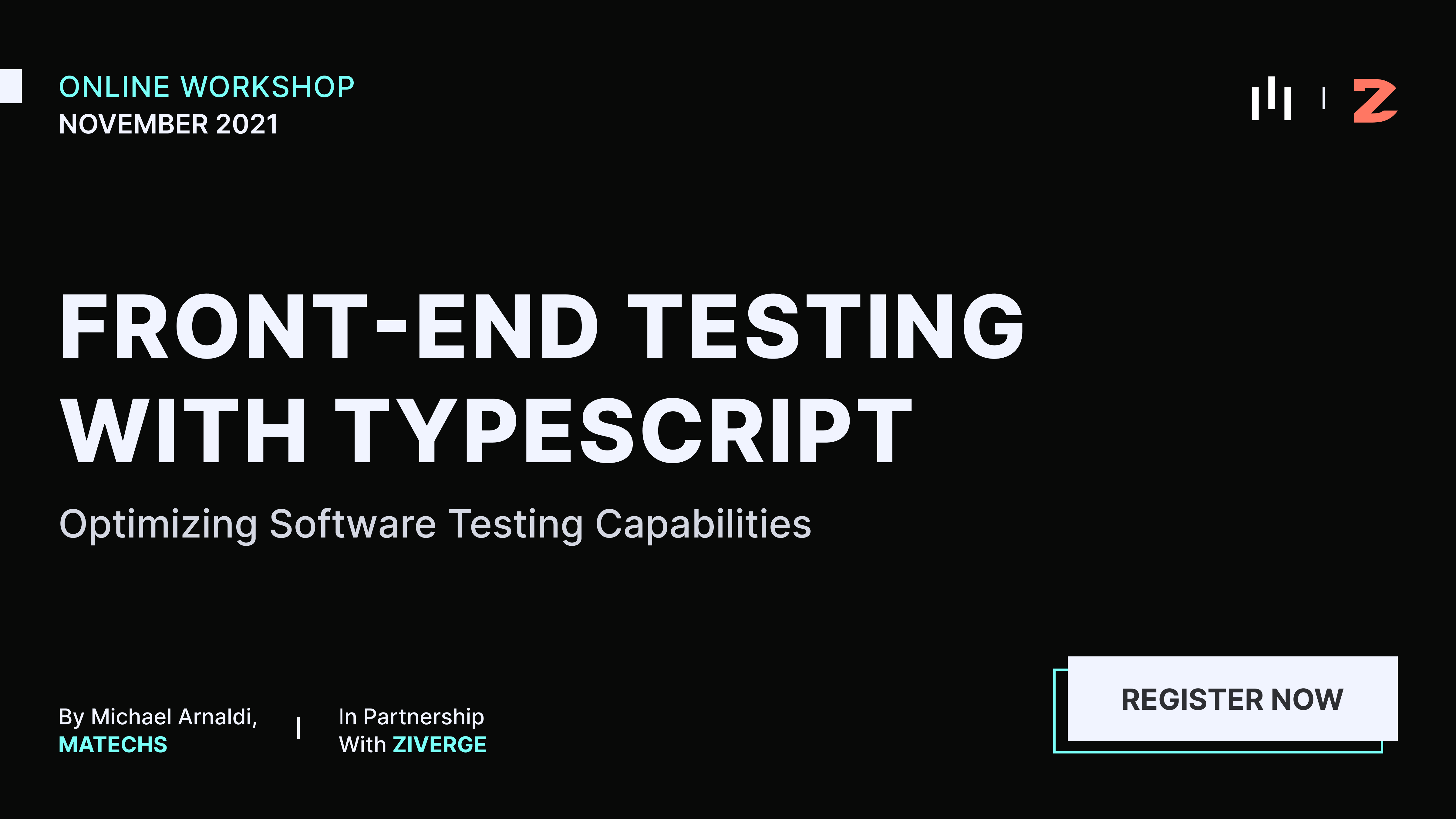 Frontend Testing With Typescript Workshop