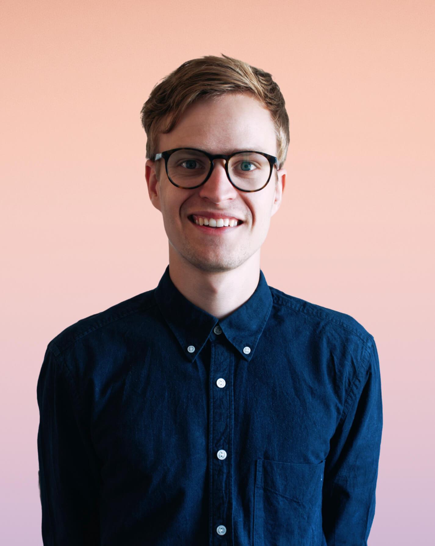 Bilde av Richard som er styreleder i nettskaperne.