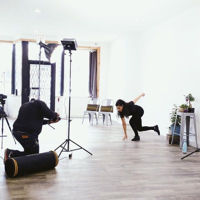 Quictivity Fitness App Shoot