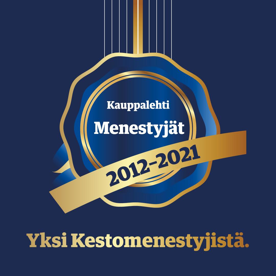 Pulse247 Oy Kauppalehden Menestyjät-listalla kymmenettä vuotta peräkkäin