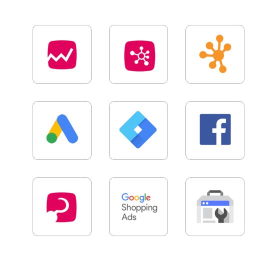 MyCashflow verkkokauppa sisältää suosituimmat integraatiot