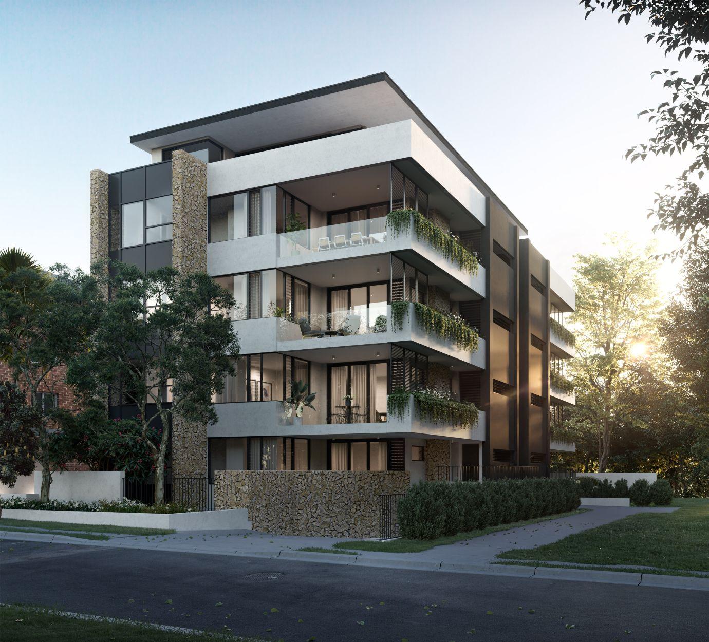 Omnia Cronulla apartments exterior CGI