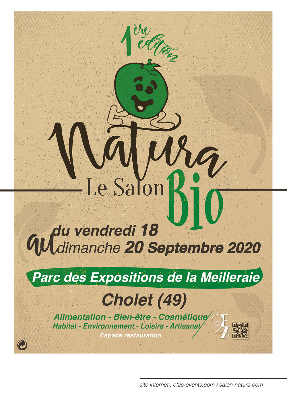 affiche salon natura cholet