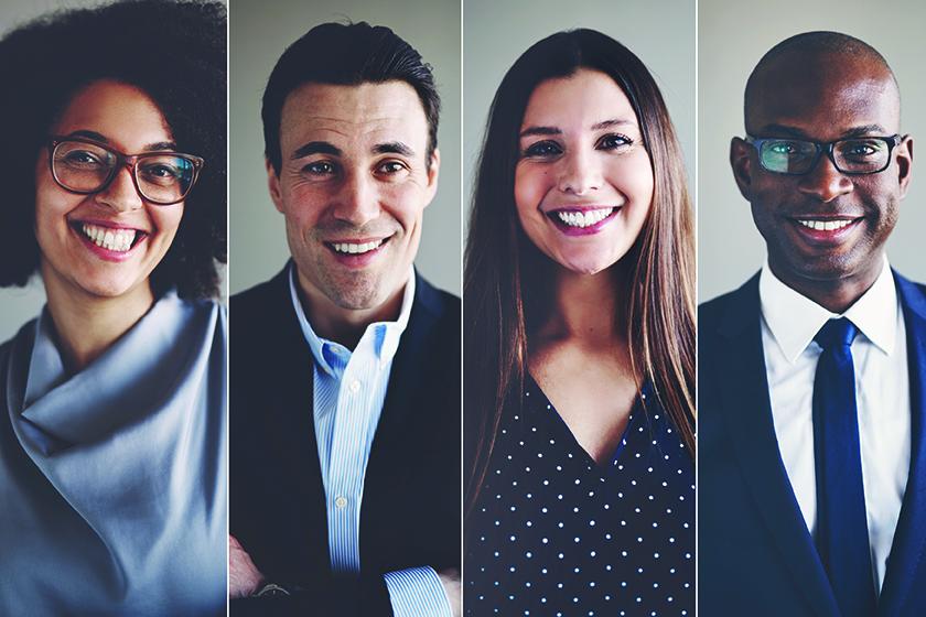 Portraits d'affaires