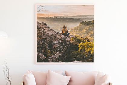 Canevas et toile sur cadre