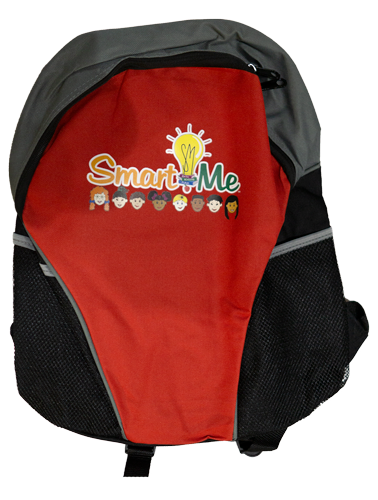 Smart Me Red Back Pack