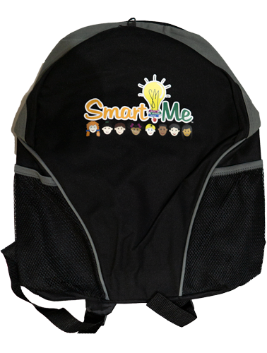 Smart Me Black Back Pack
