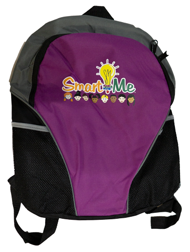 Smart Me Purple Back Pack