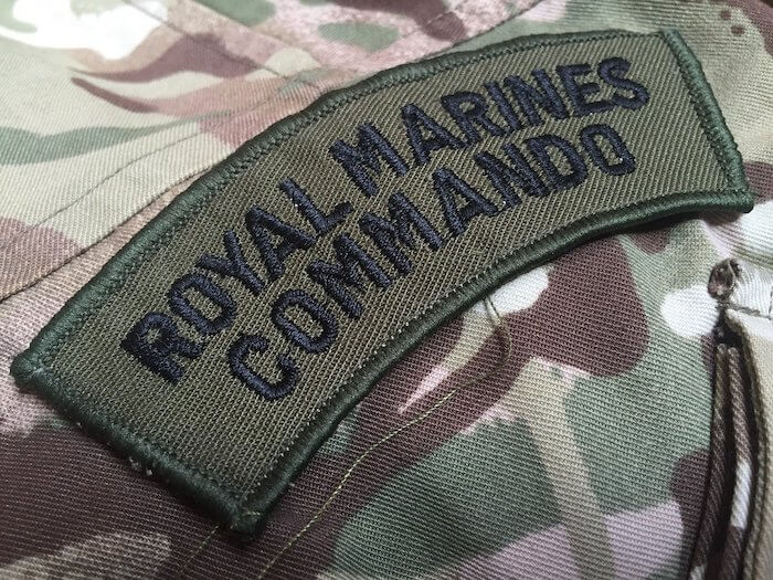 Royal Marines Commandos.