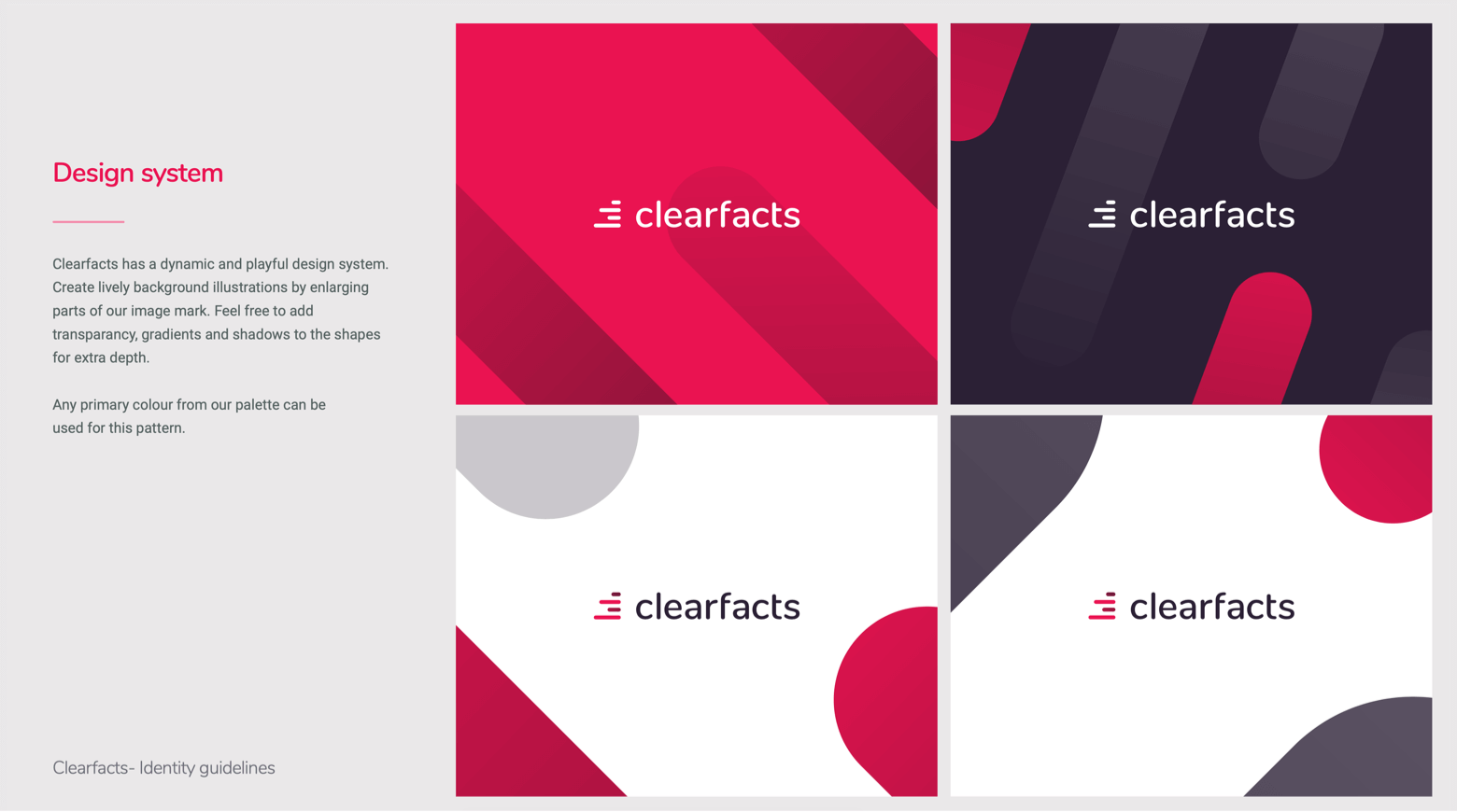 Clearfacts design system
