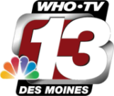 WHO-TV Channel 13 News logo