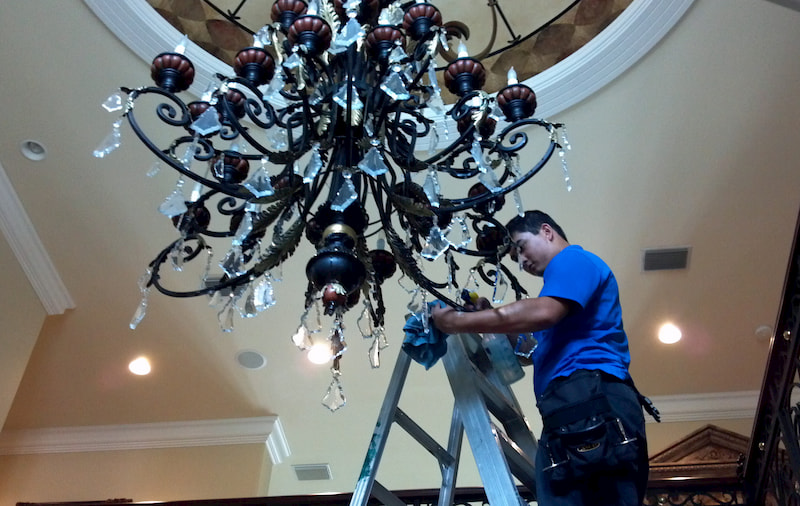 Chandelier Cleaning Tampa Fl