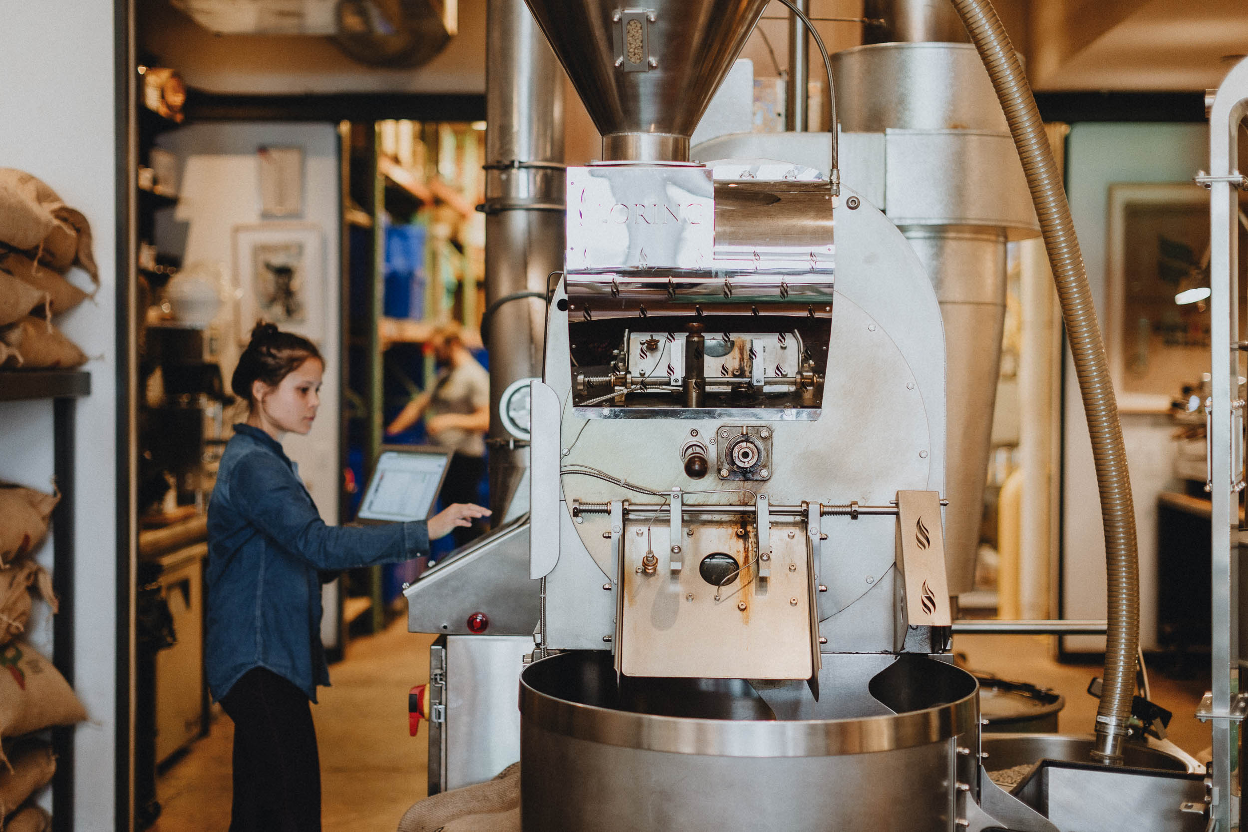 Loring Roaster at Compass Coffee DC