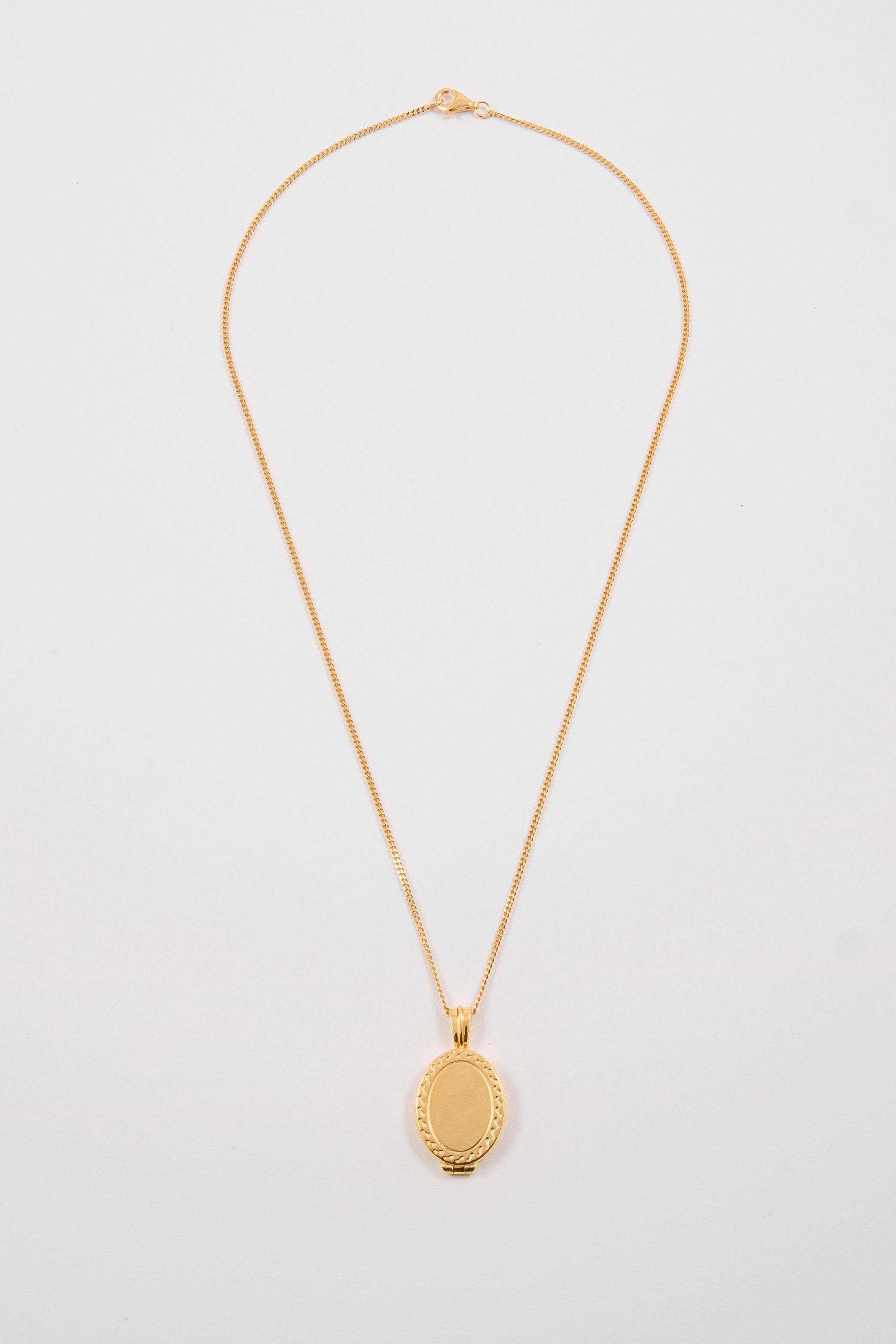 London Tommy Locket Necklace