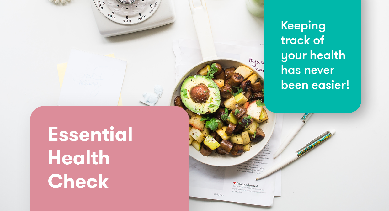 Essential Health Check banner graphic