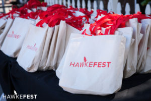 Hawkefest gift bags