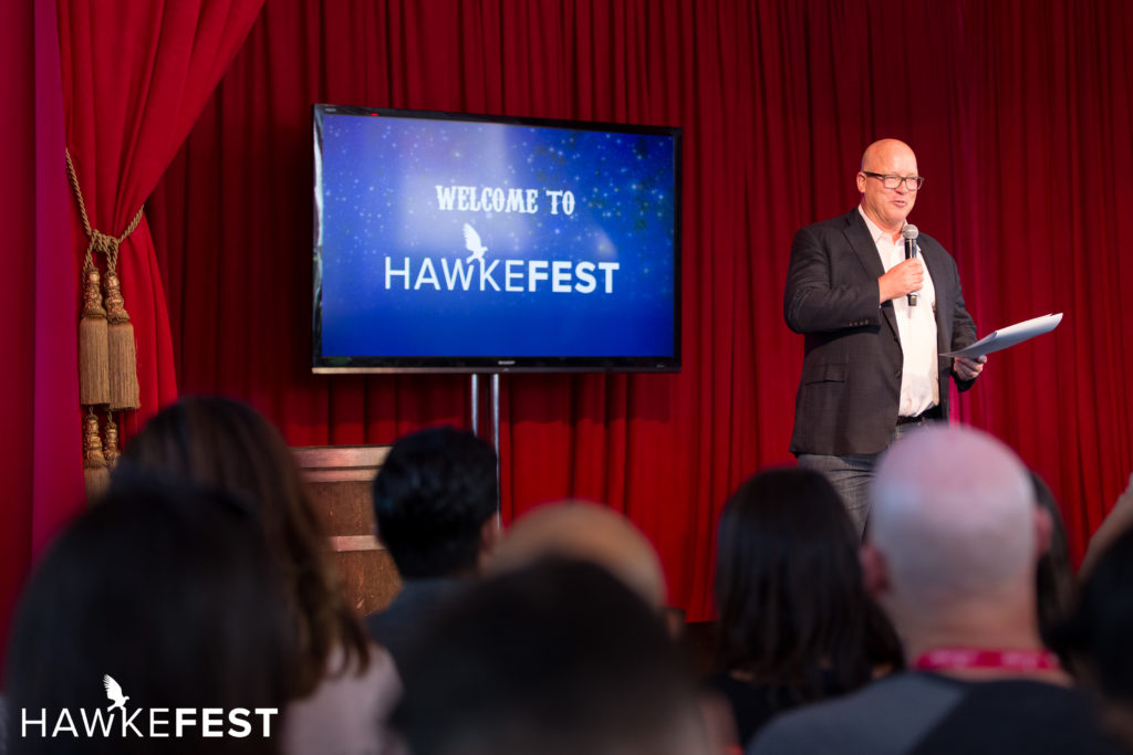 Mayor of Santa Monica at Hawkefest