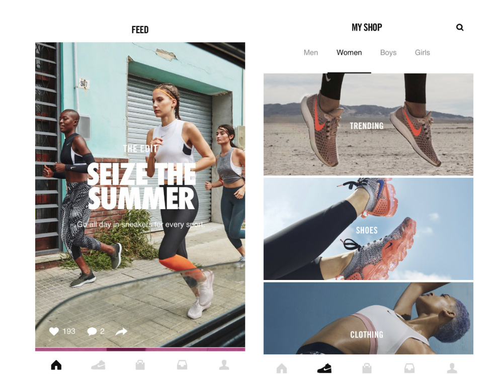 ecommerce loyalty program Nike