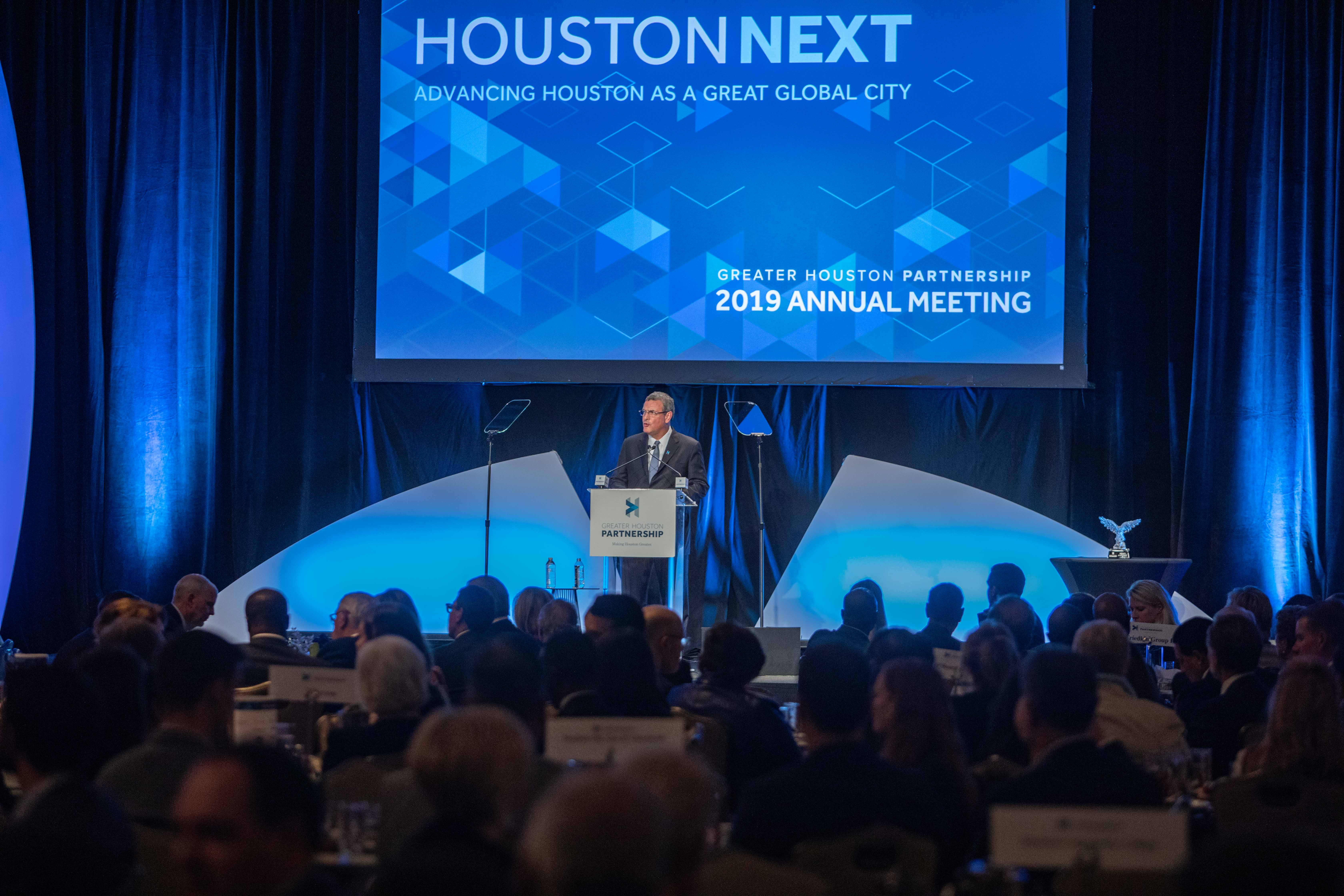 Greater Houston Partnership Annual Meeting