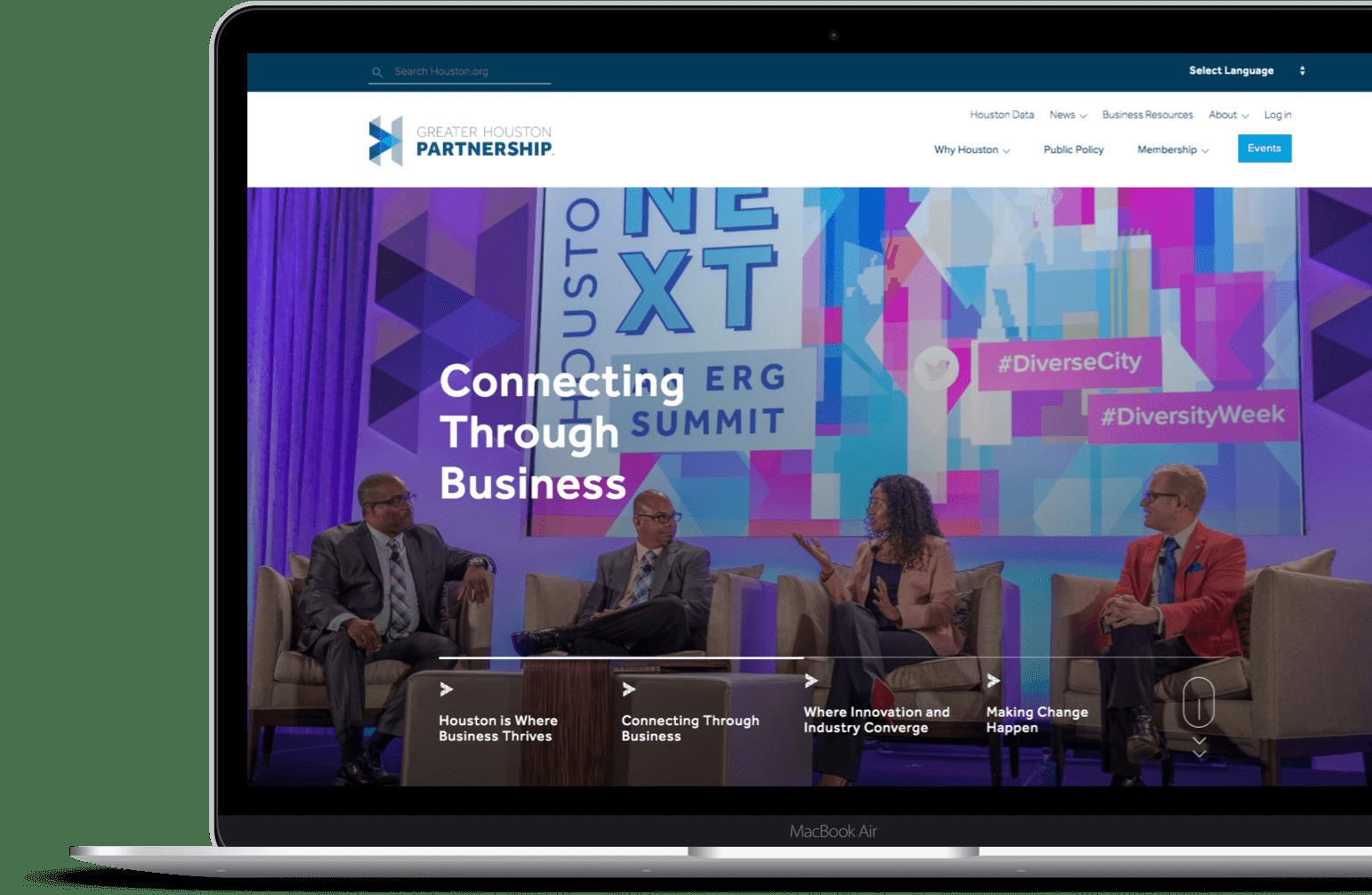 Greater Houston Partnership Website