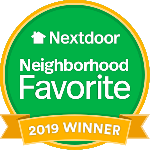 nextdoor neightborhood favorite logo