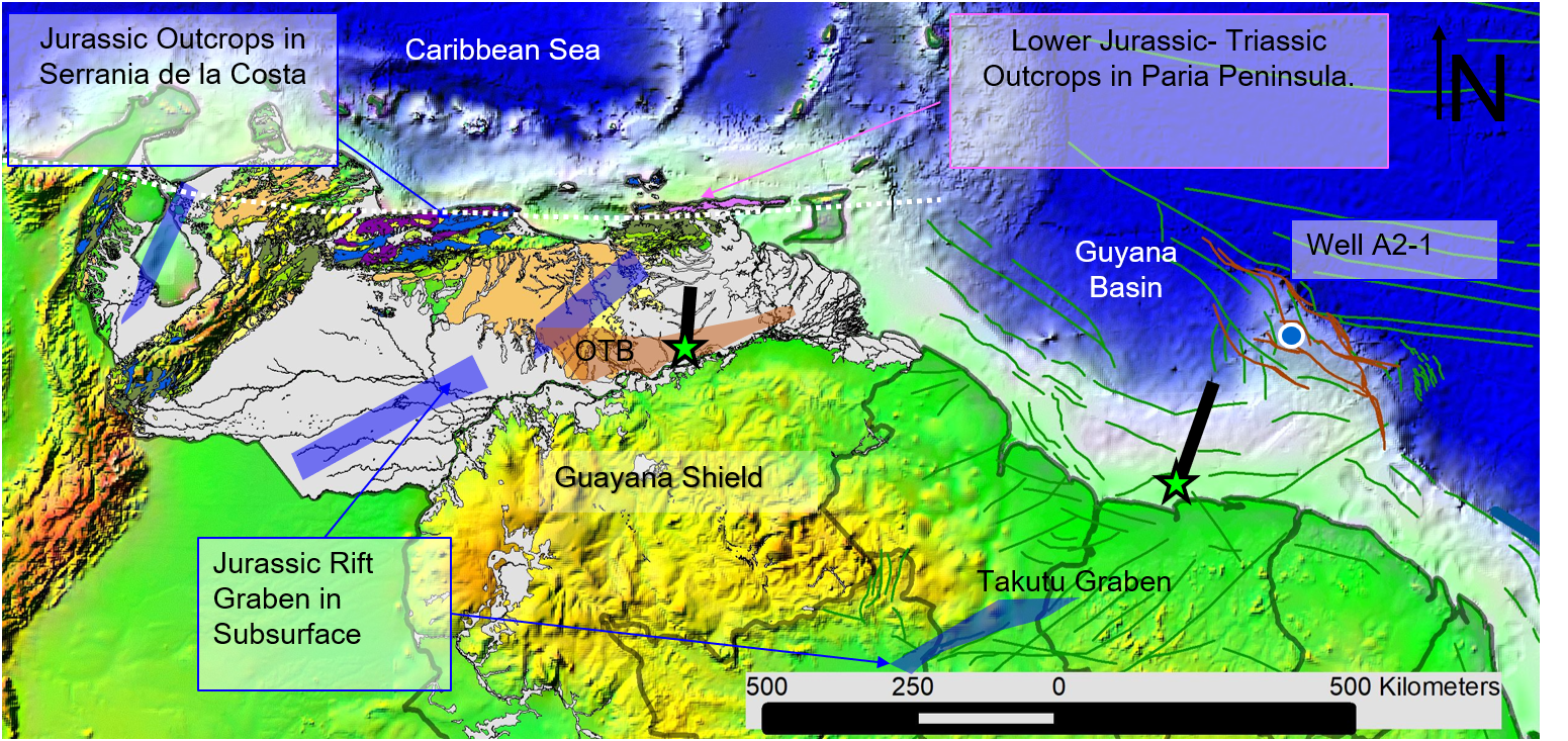 Insights into Geological Framework of Northeastern South America