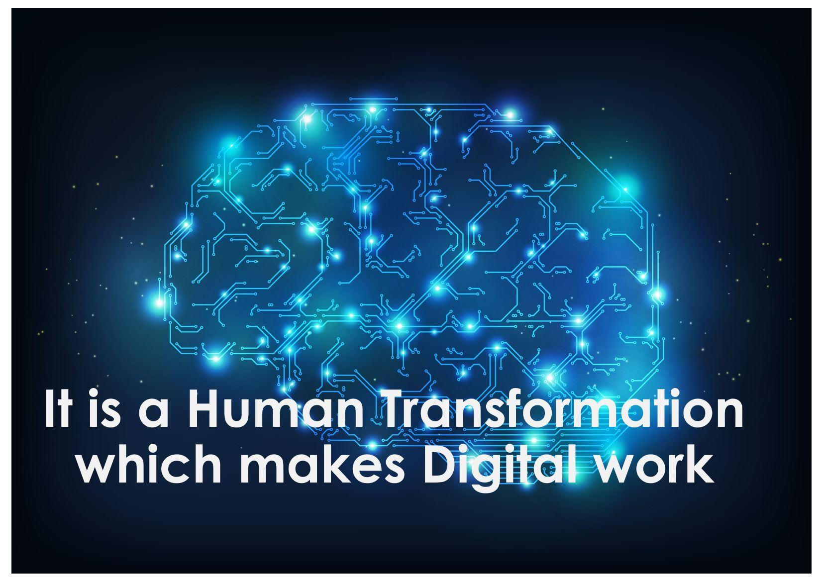 Digital Transformation or Digital Maturation