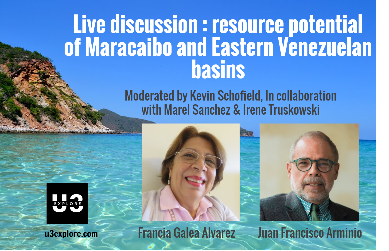 Virtual Live discussion : Calculating resource potential of Maracaibo and Eastern Venezuelan basins