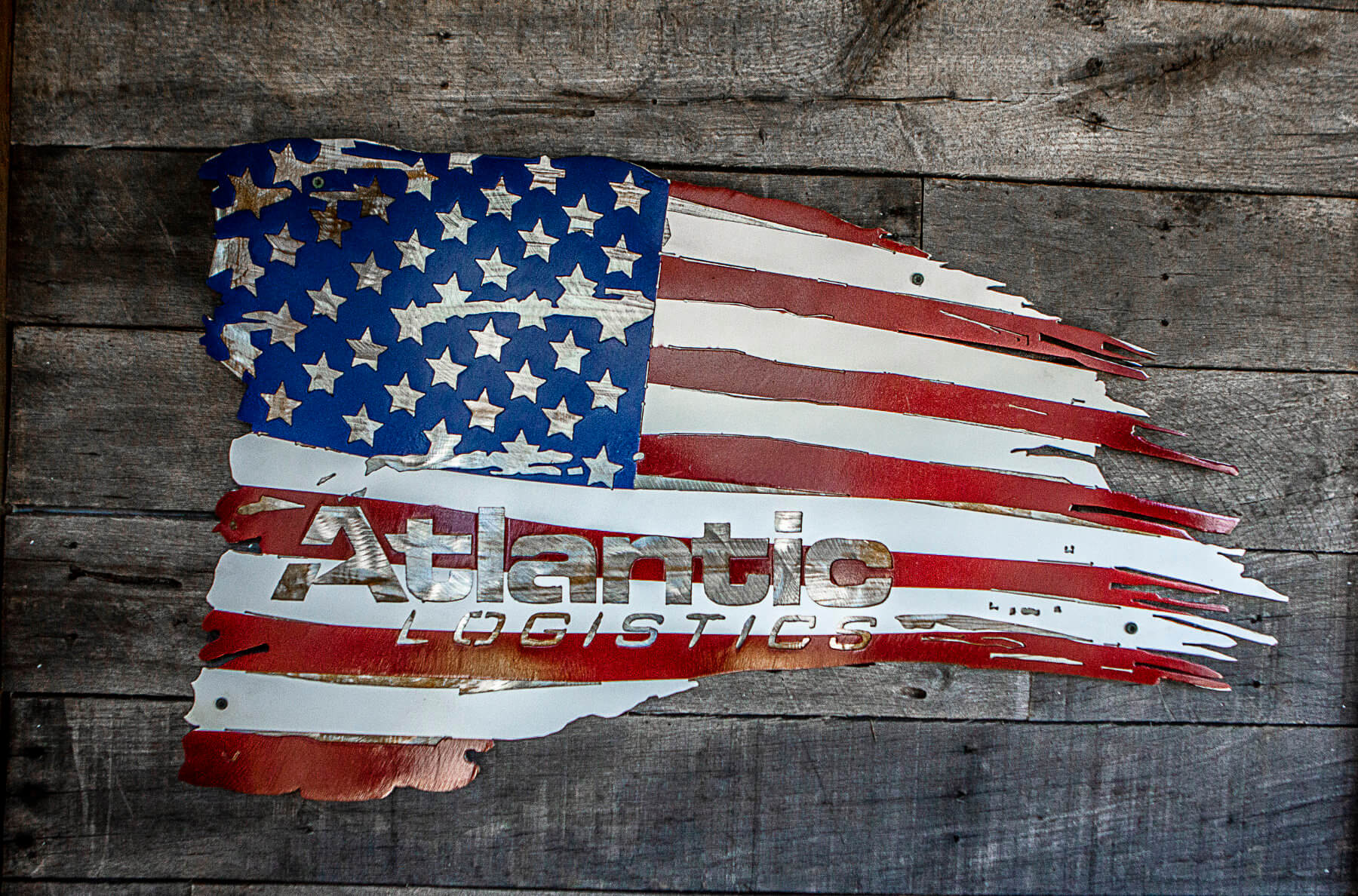 Atlantic Logistics Flag LOGO