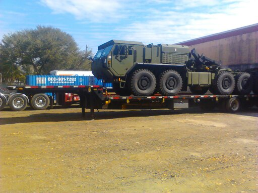 LVSR Truck Moved for the Military
